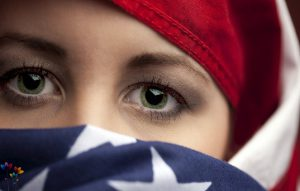 muslim-girl-usa-flag-hijab