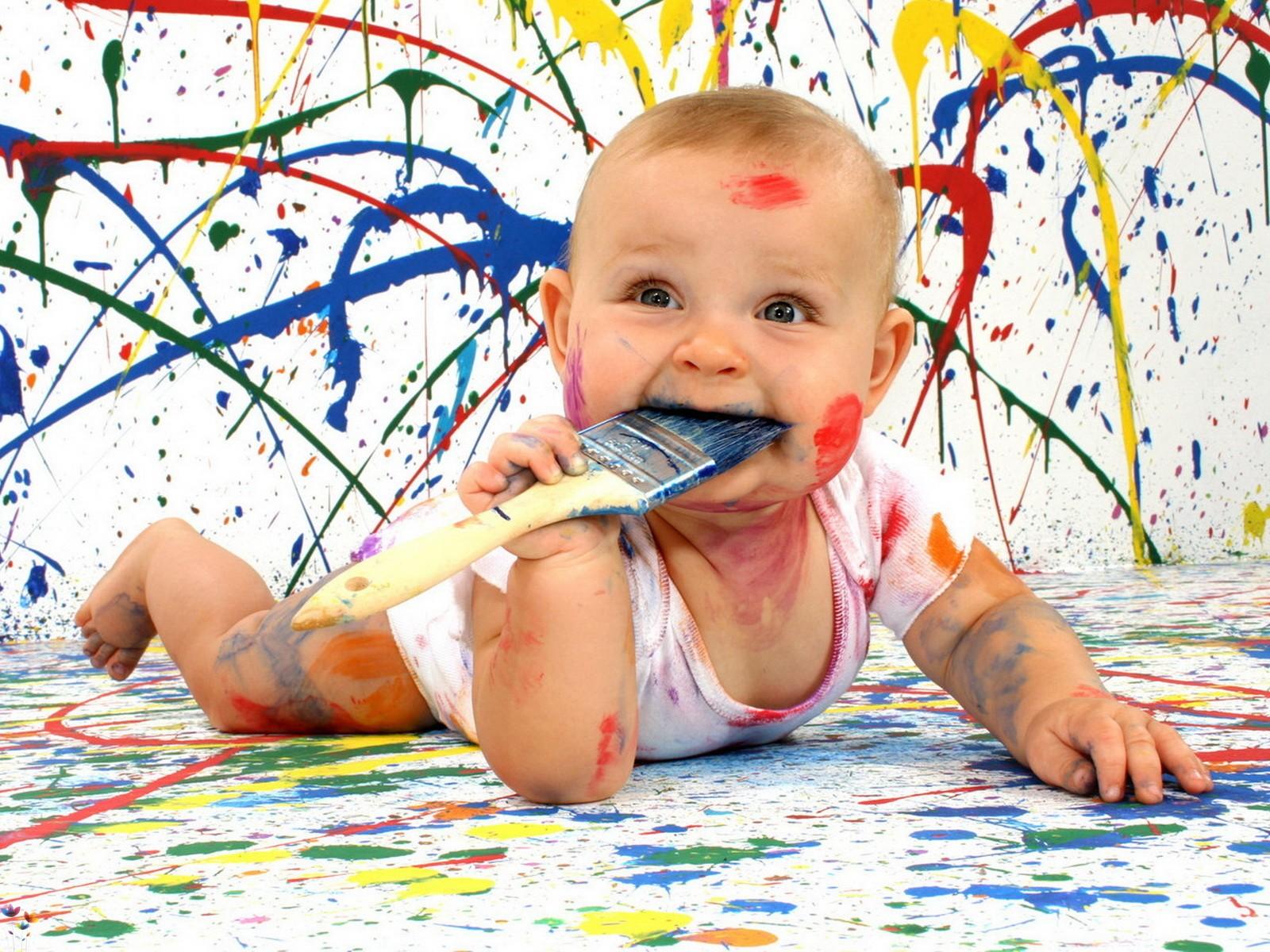 Если ребенок не рисует рот